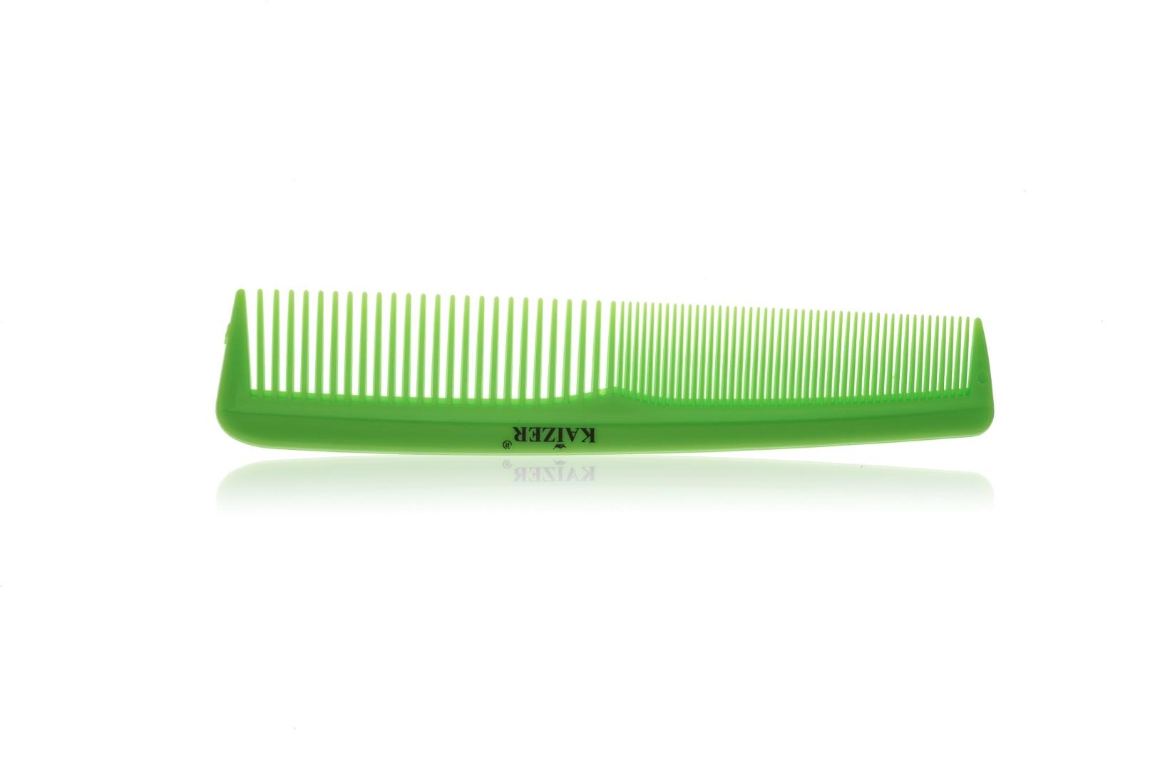 Гребень пластиковый без ручки лазурный