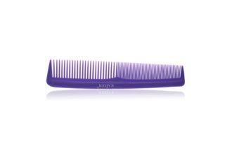 Гребень пластиковый без ручки фиолетовый