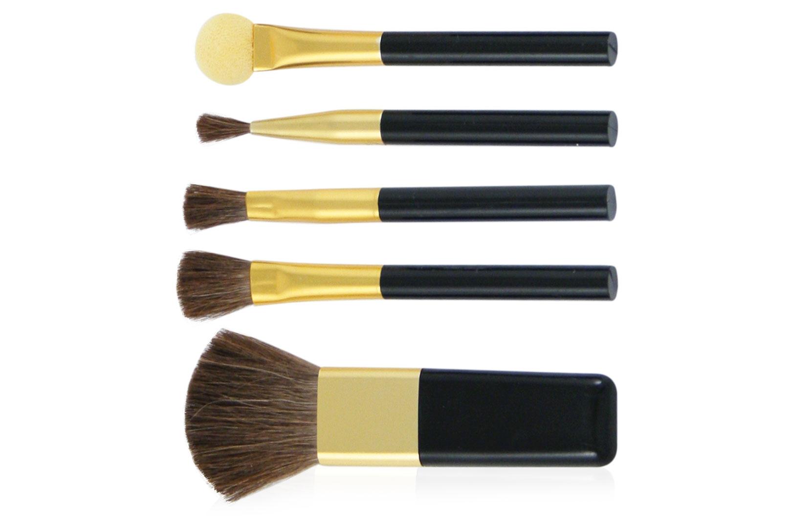 Набор кистей для макияжа, 5 предметов