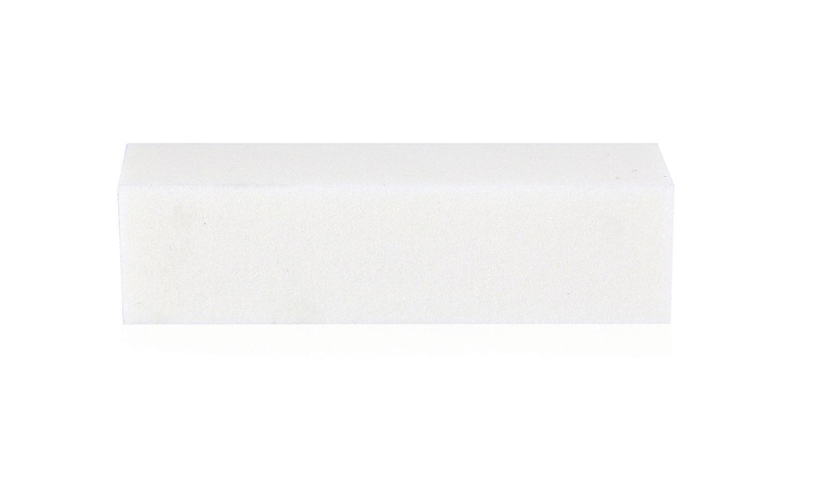 Бафик шлифовочный четырёхсторонний белый