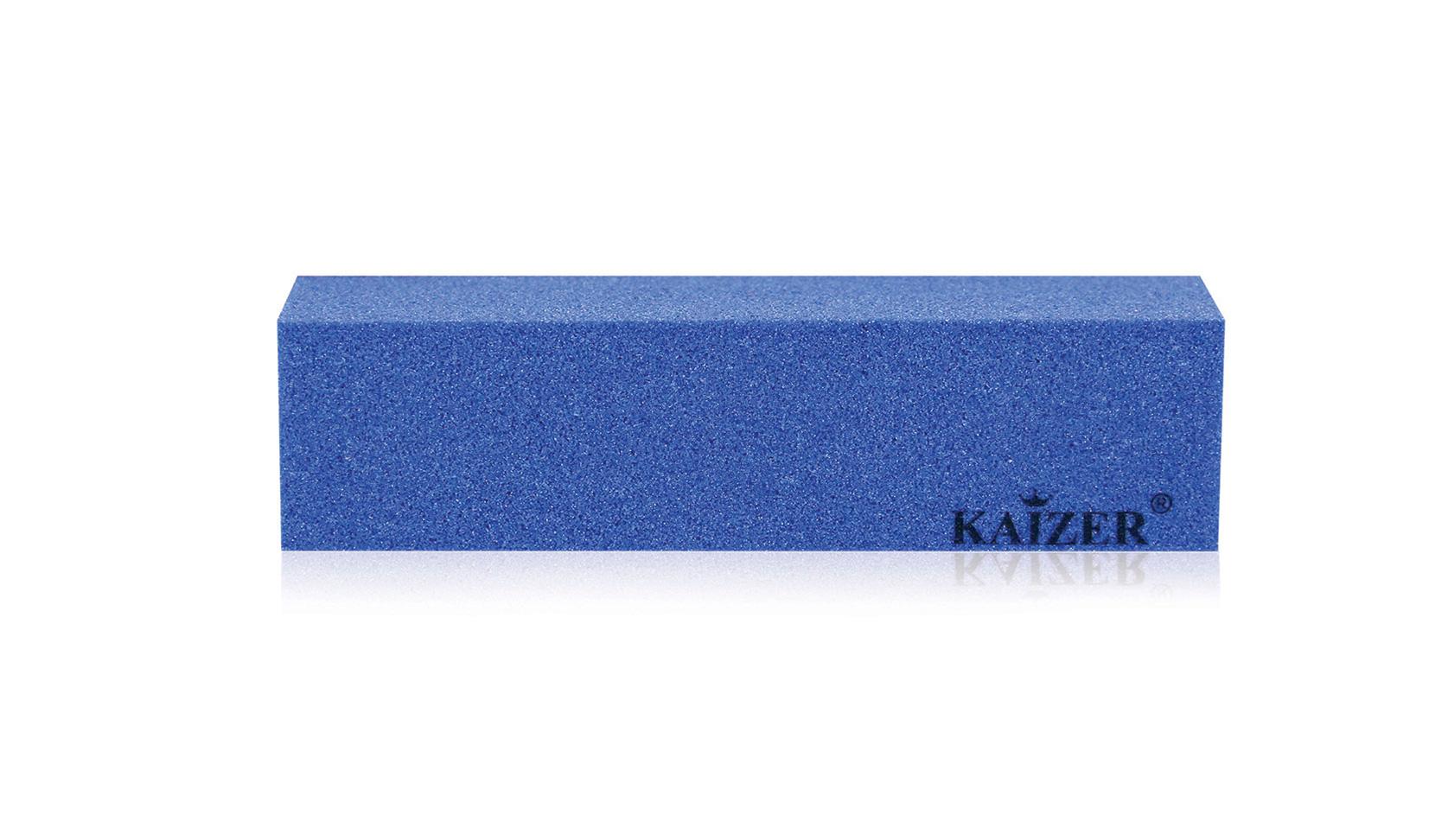 Бафик шлифовочный четырёхсторонний голубой