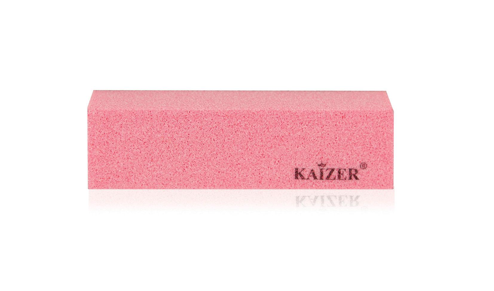 Бафик шлифовочный четырёхсторонний розовый