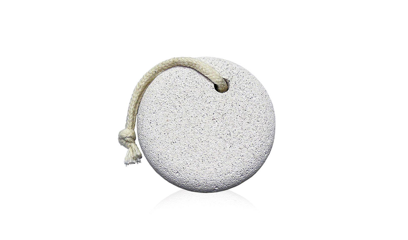 Пемза педикюрная круглая с верёвкой