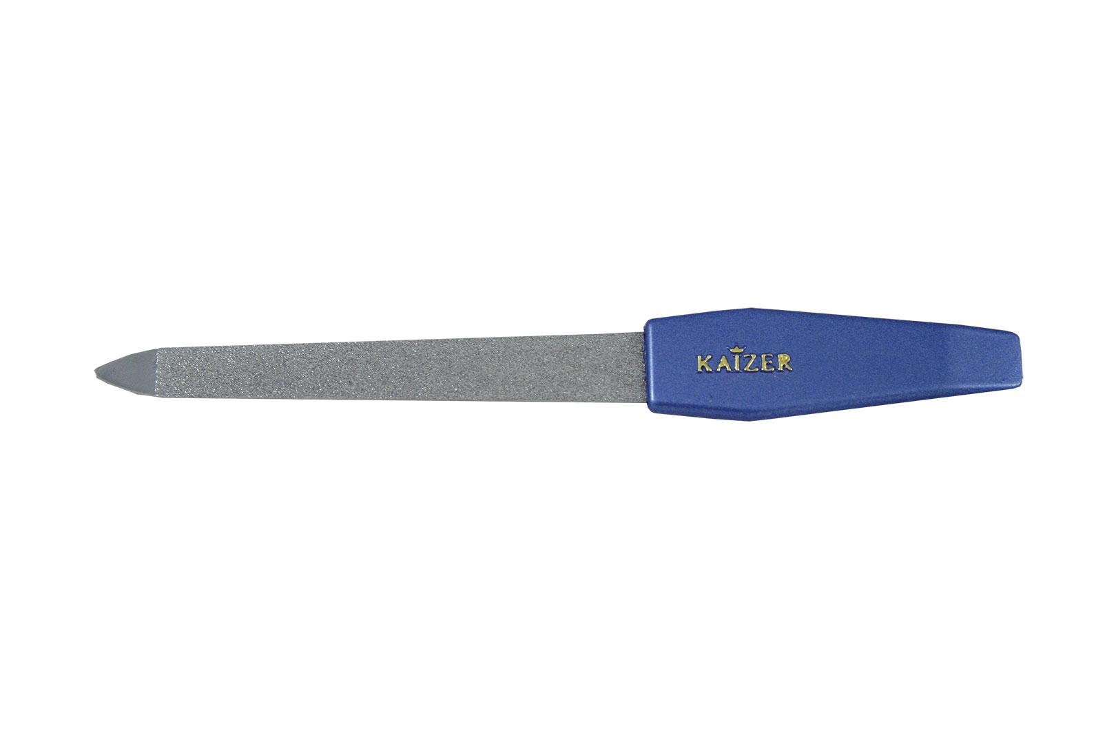 Пилка алмазная с синей ручкой