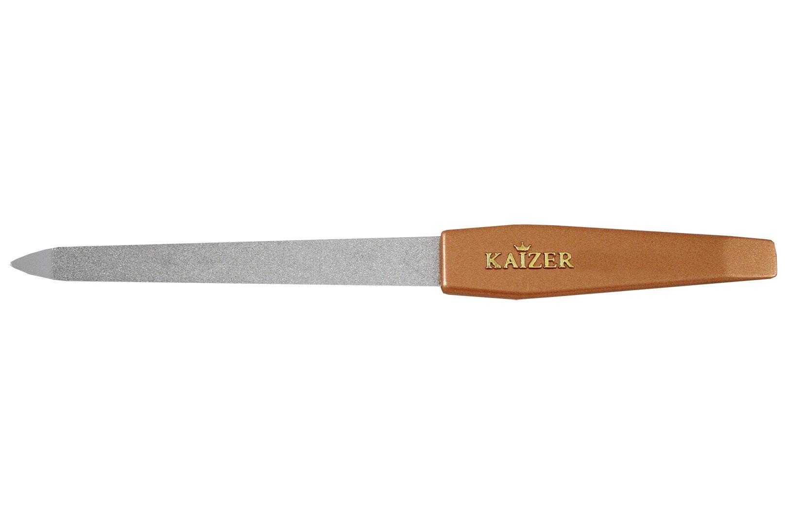 Пилка алмазная с коричневой ручкой