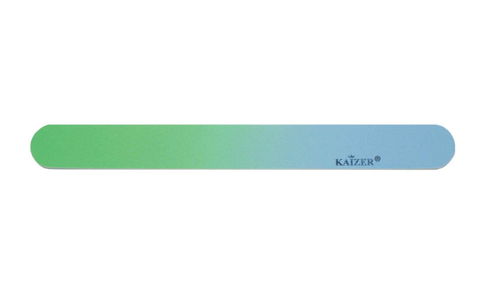 Пилка шлифовочная прямая голубая с зелёным