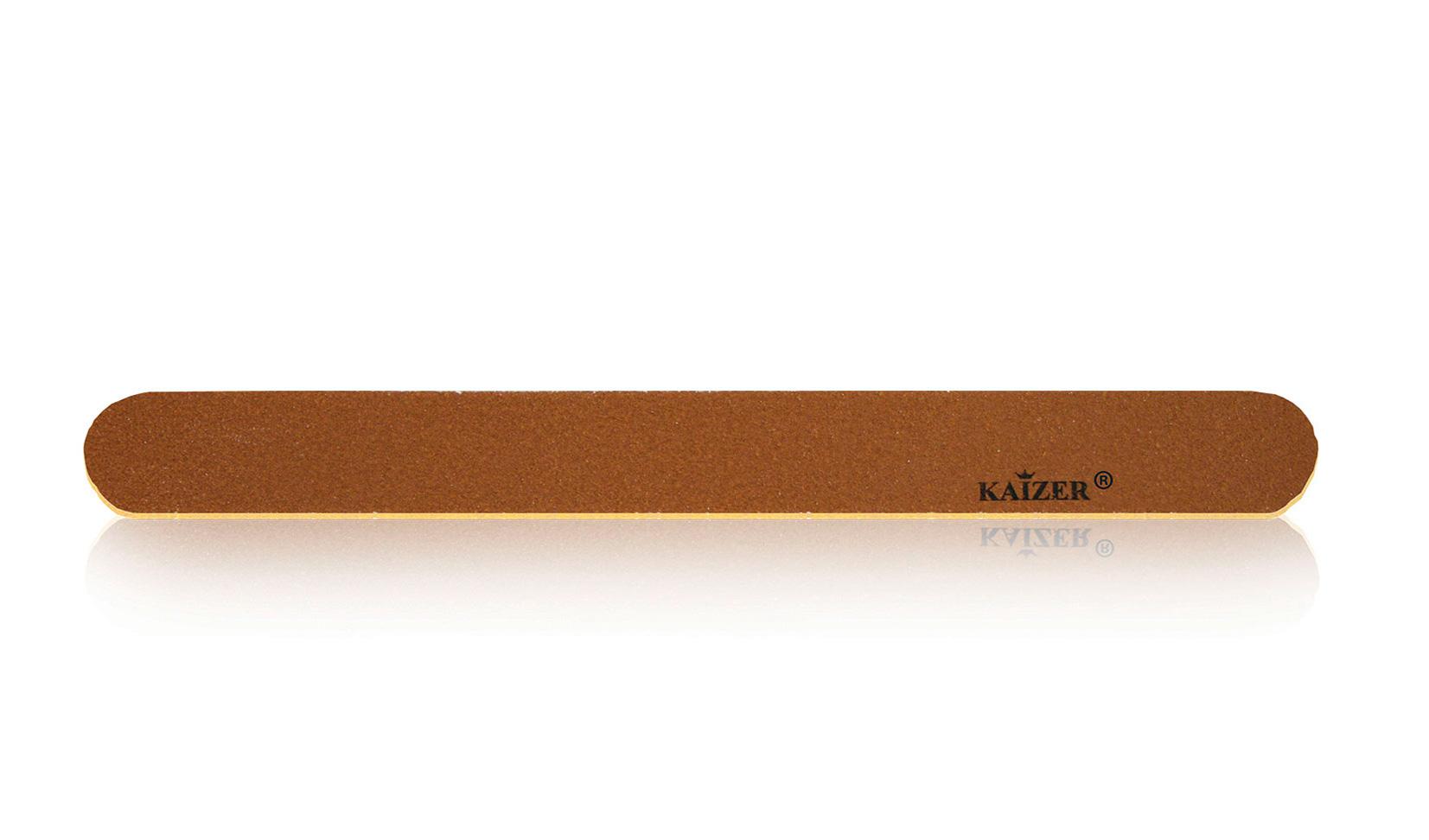 Пилка шлифовочная прямая коричневая на деревянной основе