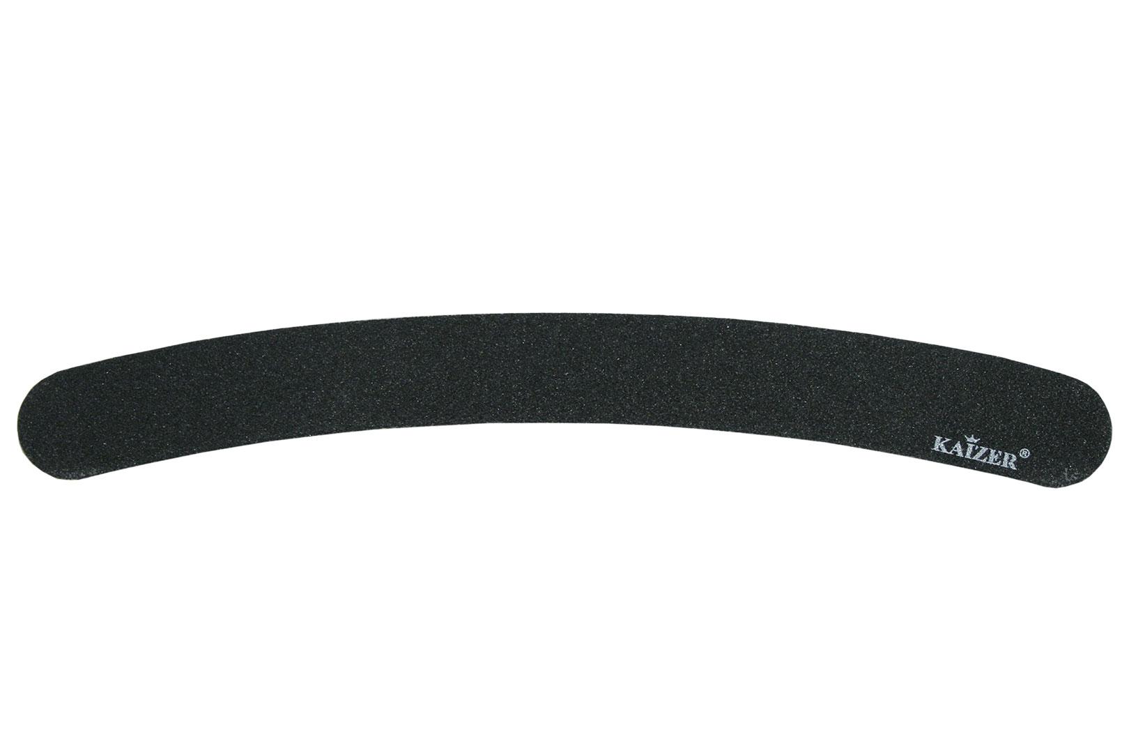 Пилка шлифовочная бумеранг чёрная на деревянной основе