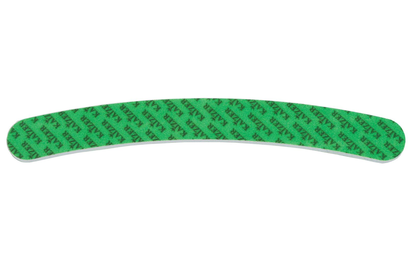 Пилка шлифовочная бумеранг с принтом зелёная