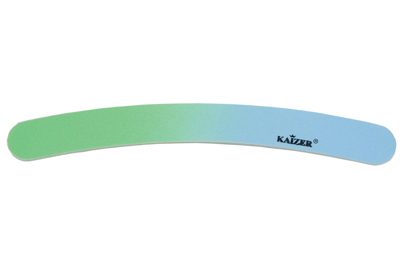 Пилка шлифовочная бумеранг голубая с зелёным